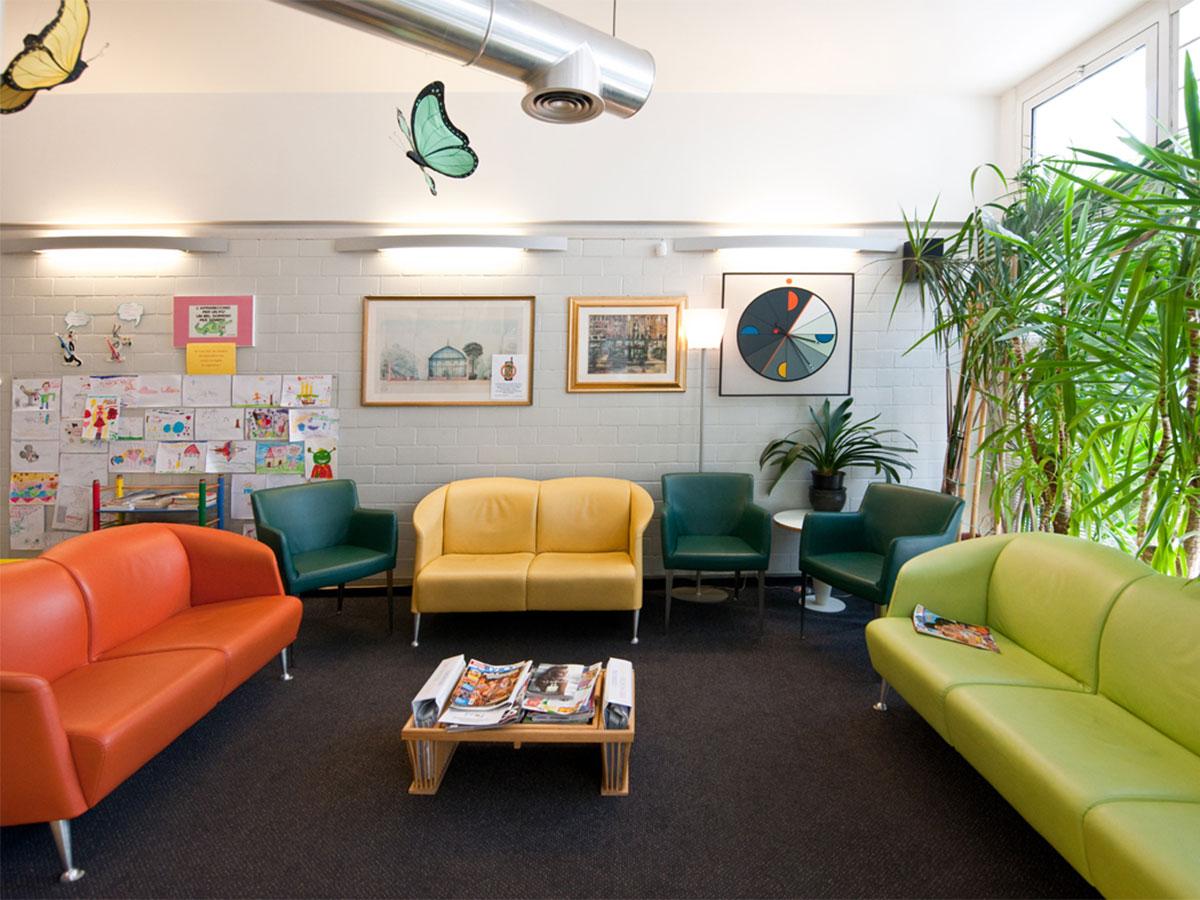 Gli interni del nostro studio ortodontico a Padova specializzato in odontoiatria pediatrica e degli adulti