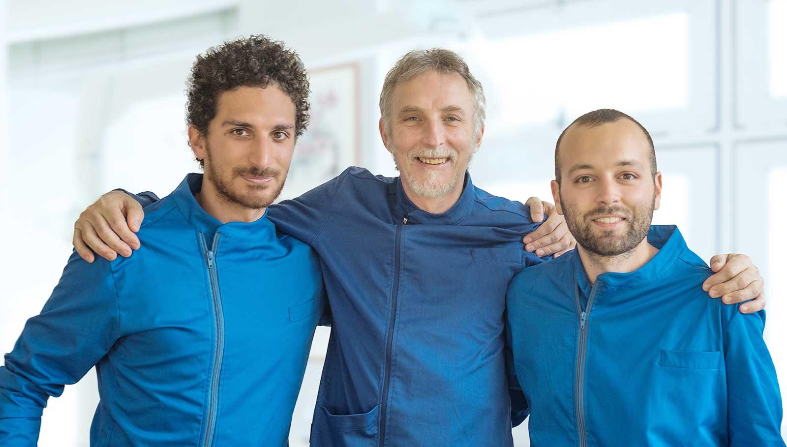 Studio ortodontico a Padova - Dott. Bavaresco - Dott. Montalbano - Dott. Sanguin