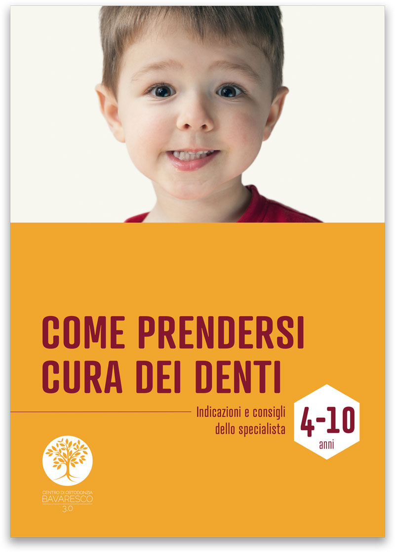 Guide alla cura dei denti di bambini e adulti - Bambini da 4 a 10 anni - CENTRO ORTODONZIA BAVARESCO PADOVA