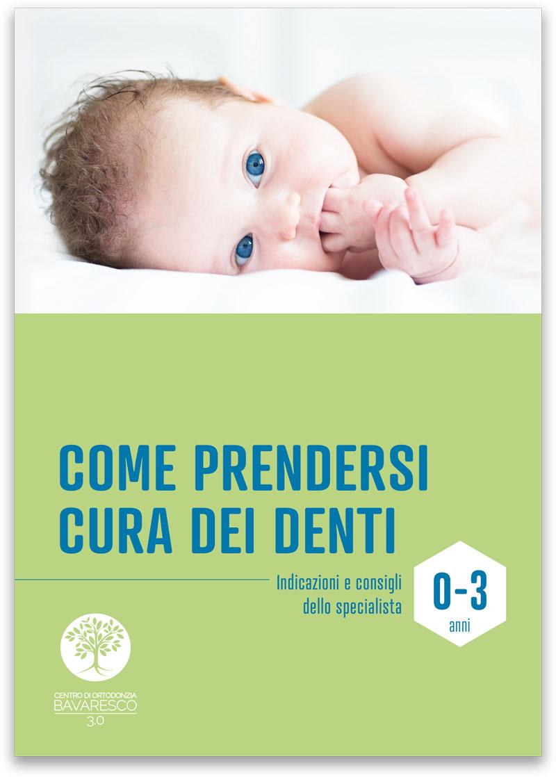 La prima visita dentistica e ortodontica deve avvenire tra i 3 e i 4anni di età - Scarica la guida alle scadenze - CENTRO ORTODONZIA BAVARESCO